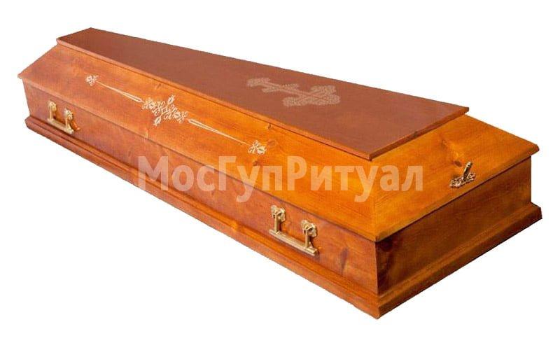 Гроб лакированный №02